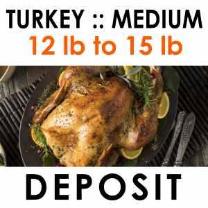 medium turkey deposit