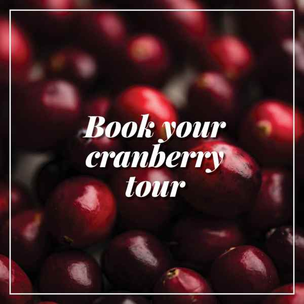 book your cranberry tour