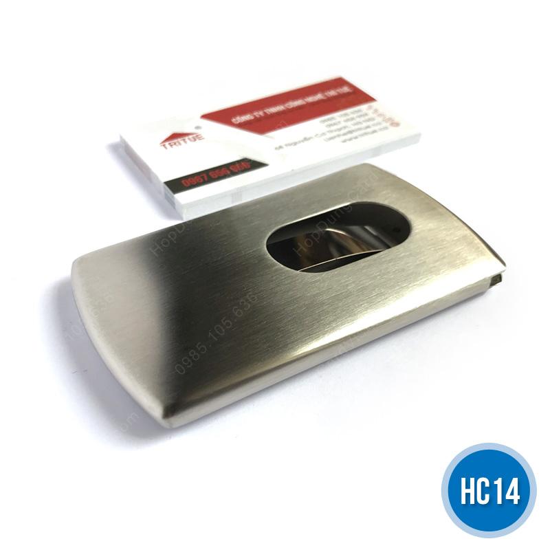 Hop dung card inox nam HC14
