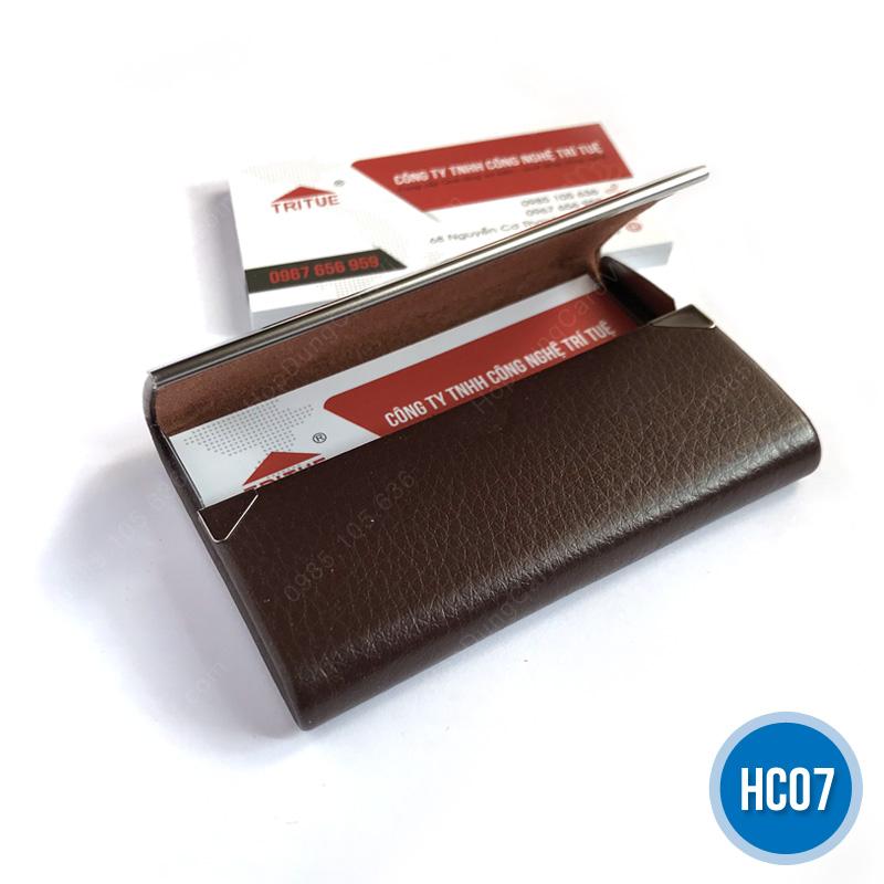 Hộp đựng namecard giá rẻ Hà Nội