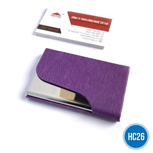 Hộp namecard da HC26