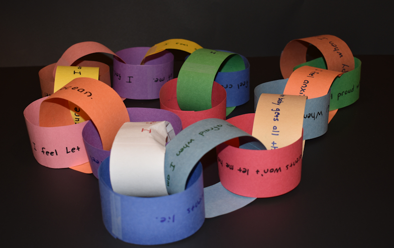 Emotions Paper Chain
