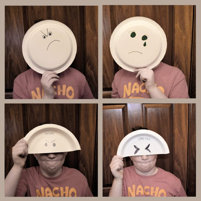 Emotion Face Plates