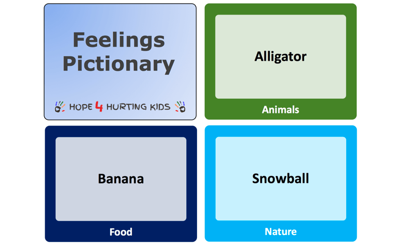 Feelings Pictionary
