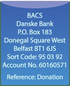 BACS Donations