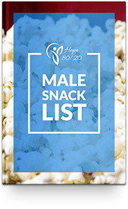 healthy snacks list for male pdf