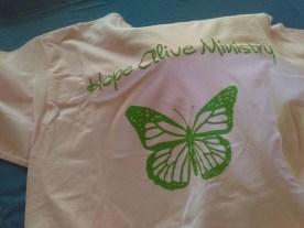 HAM pink medium t-shirt