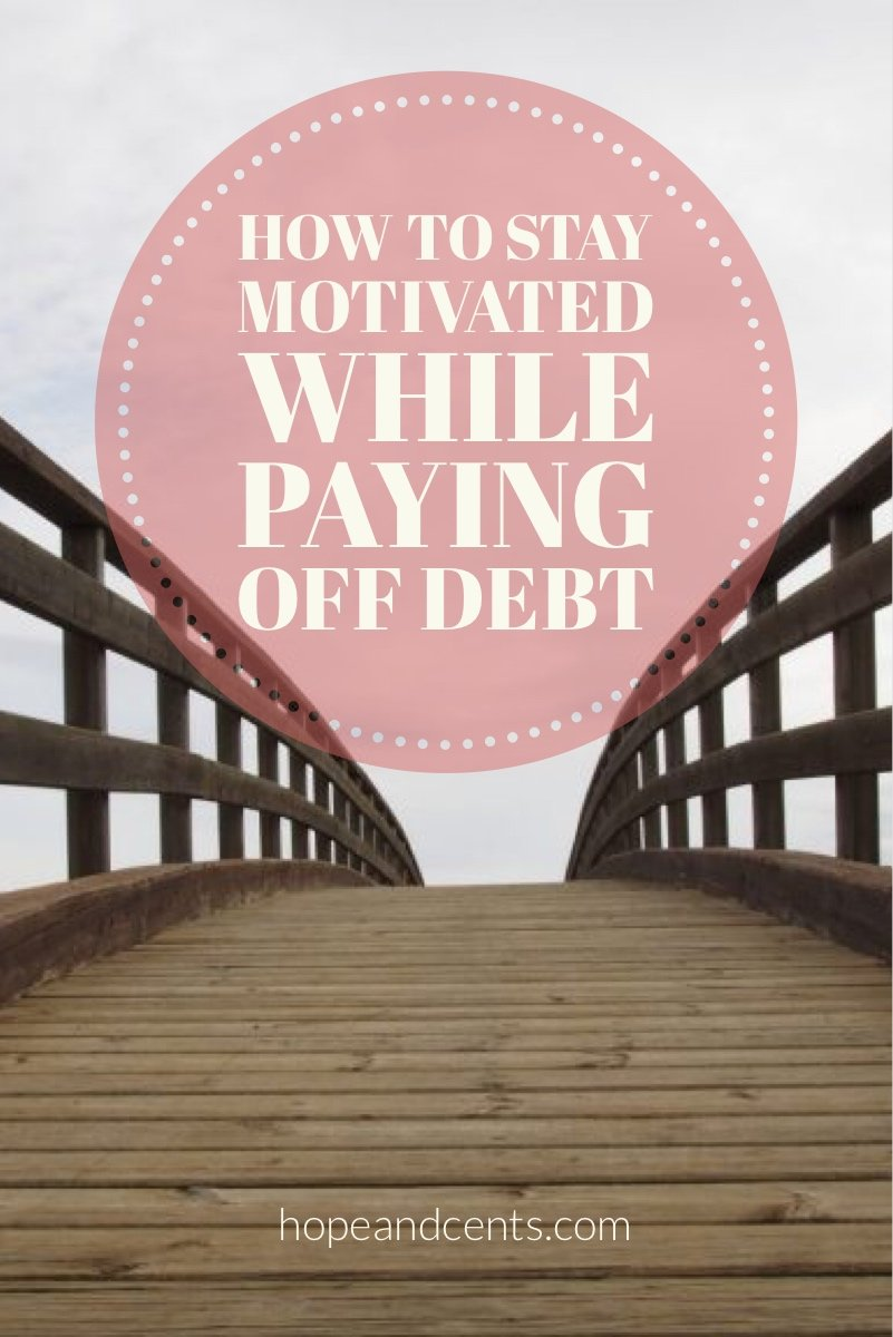 "Congrats, you're paying off your debt. What an amazing decision! I may not know you personally, but I am proud of you. It takes a lot of courage to step outside of what is ""normal"" and average and decide you want more - you want something different. Good job."