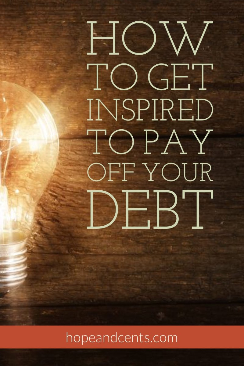 You know you're in debt but don't know where to begin. Love these tips on how to get inspired to start your debt-free journey. | paying off debt | dumping debt | debt free journey | #money #personafinance #debt #debtfree.