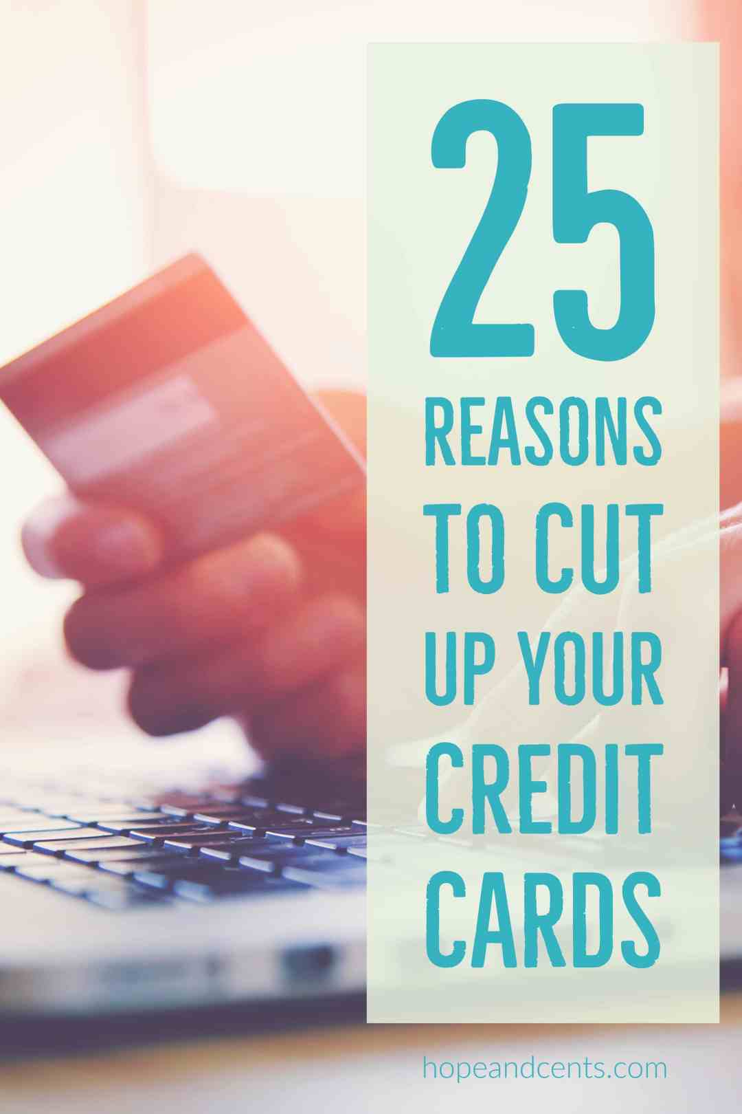 Making the decision to cut up your credit cards can feel scary if you have spent years relying on them. But there is much to gain by ditching them and living a cash-only lifestyle.