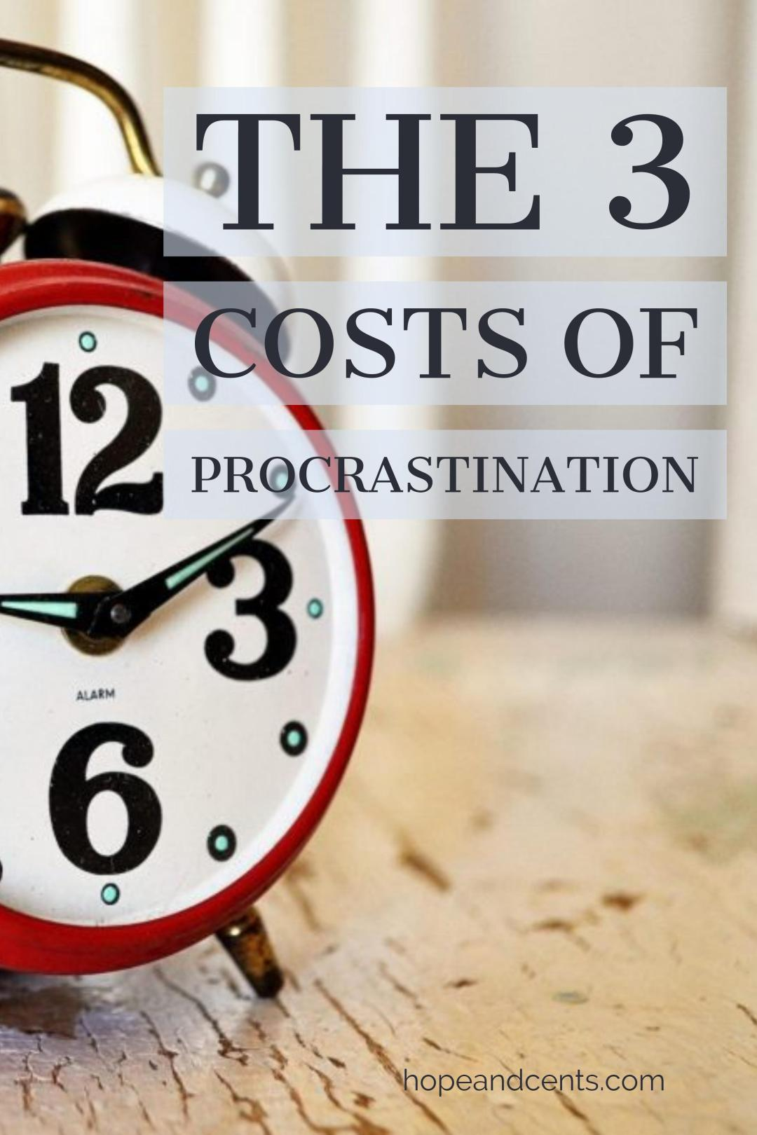 What's the busiest day of the week? Tomorrow. And the busiest time of the day? Later. Yes, we are always, always putting things off. But our procrastination comes with costs.