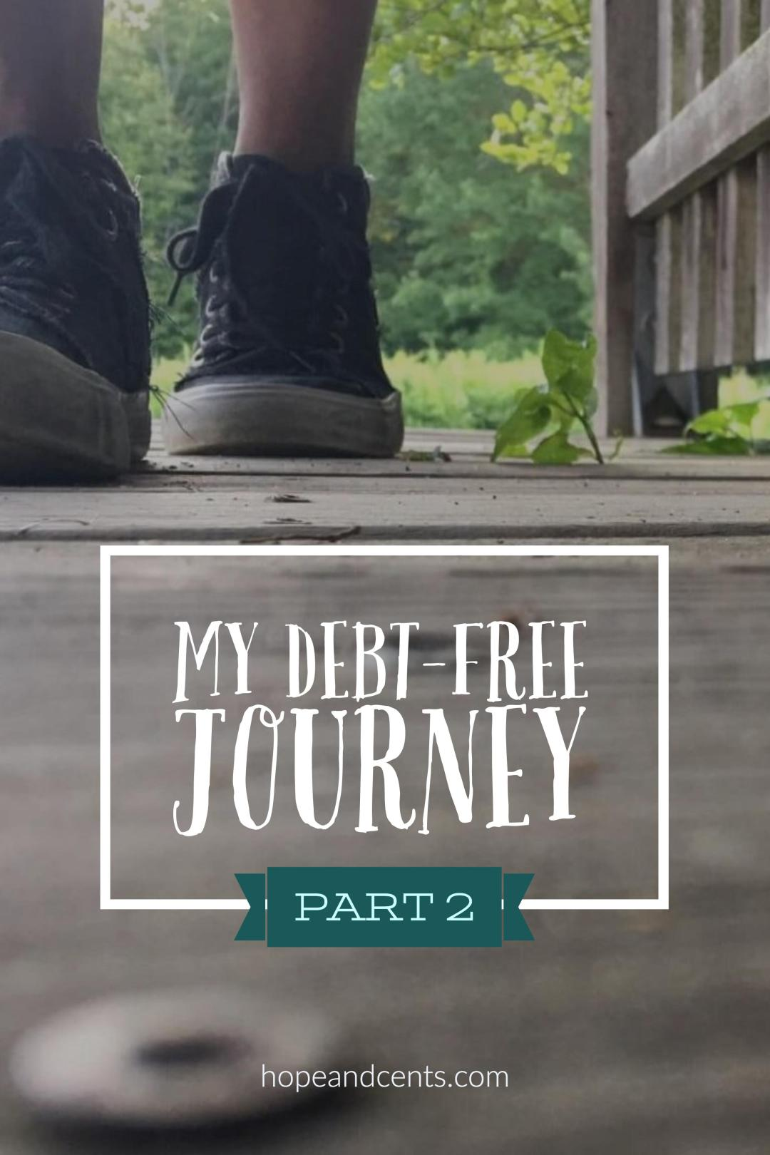 Part 2 of my Debt-Free Journey. It's been almost five years since I paid off all $74,000 of my consumer debt and have been debt-free.