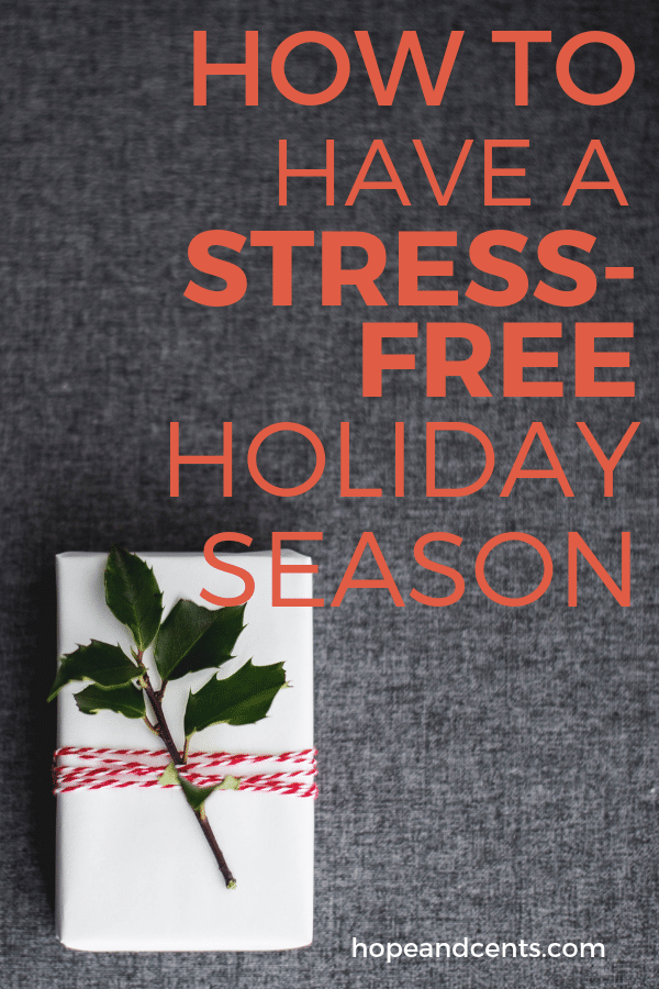 Do the holidays stress you out financially? These tips will help you plan your spending and have a fun, festive, and money stress-free holiday season.  | holiday budget | Christmas budget | holiday season | holiday spending