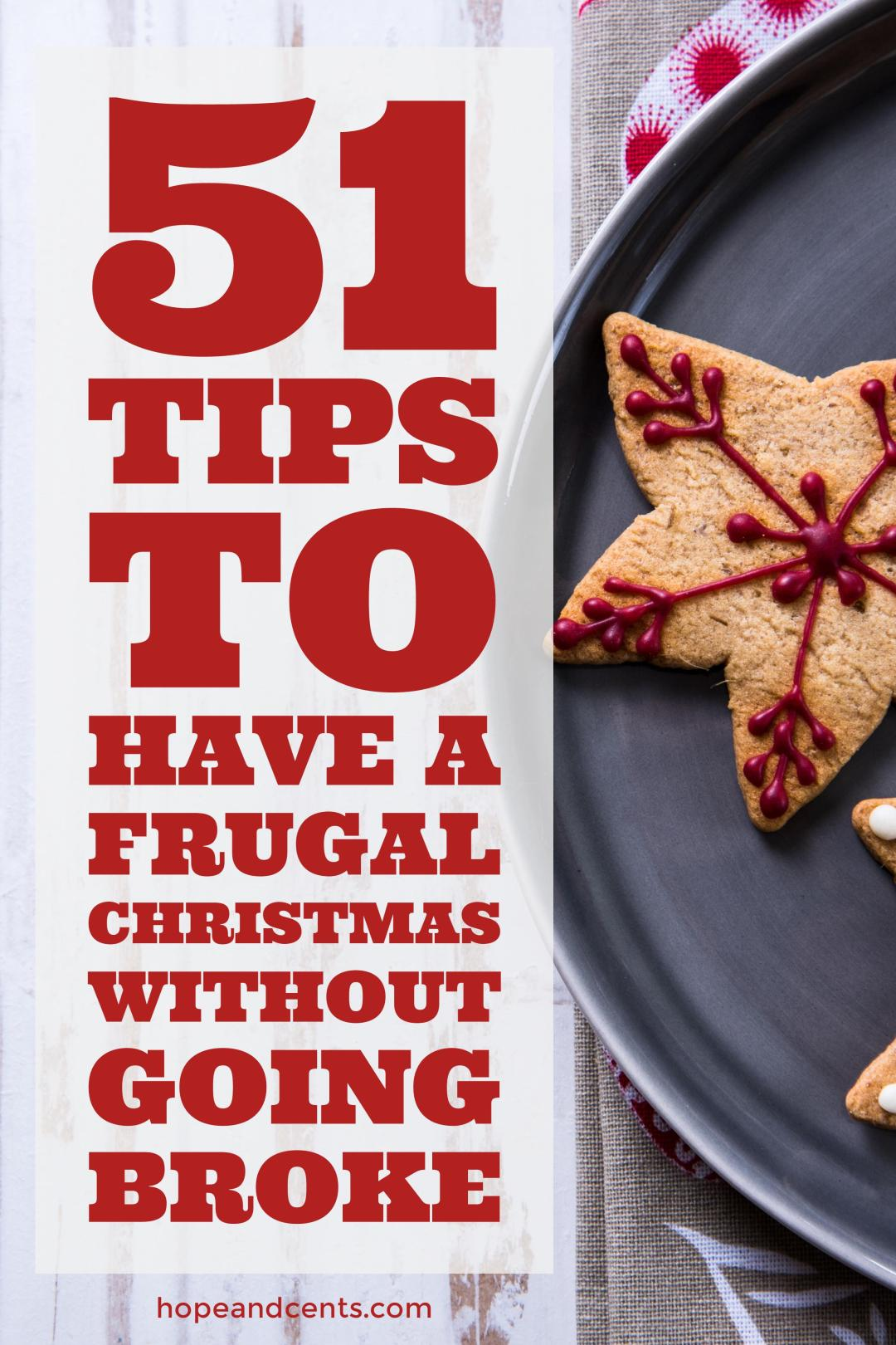 Tons of tips for a frugal and debt-free Christmas and holiday season. Love these suggestions to keep the holidays fun and affordable.