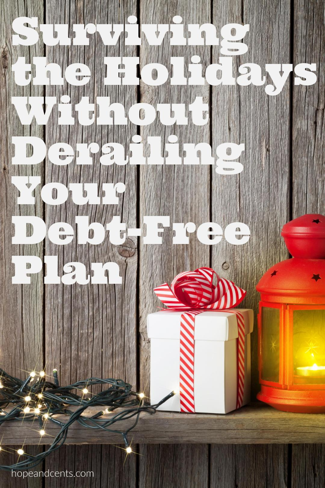 Do the holidays pose a threat to your debt-free journey? You can have a good Christmas and still pay off debt, save money, and be frugal.