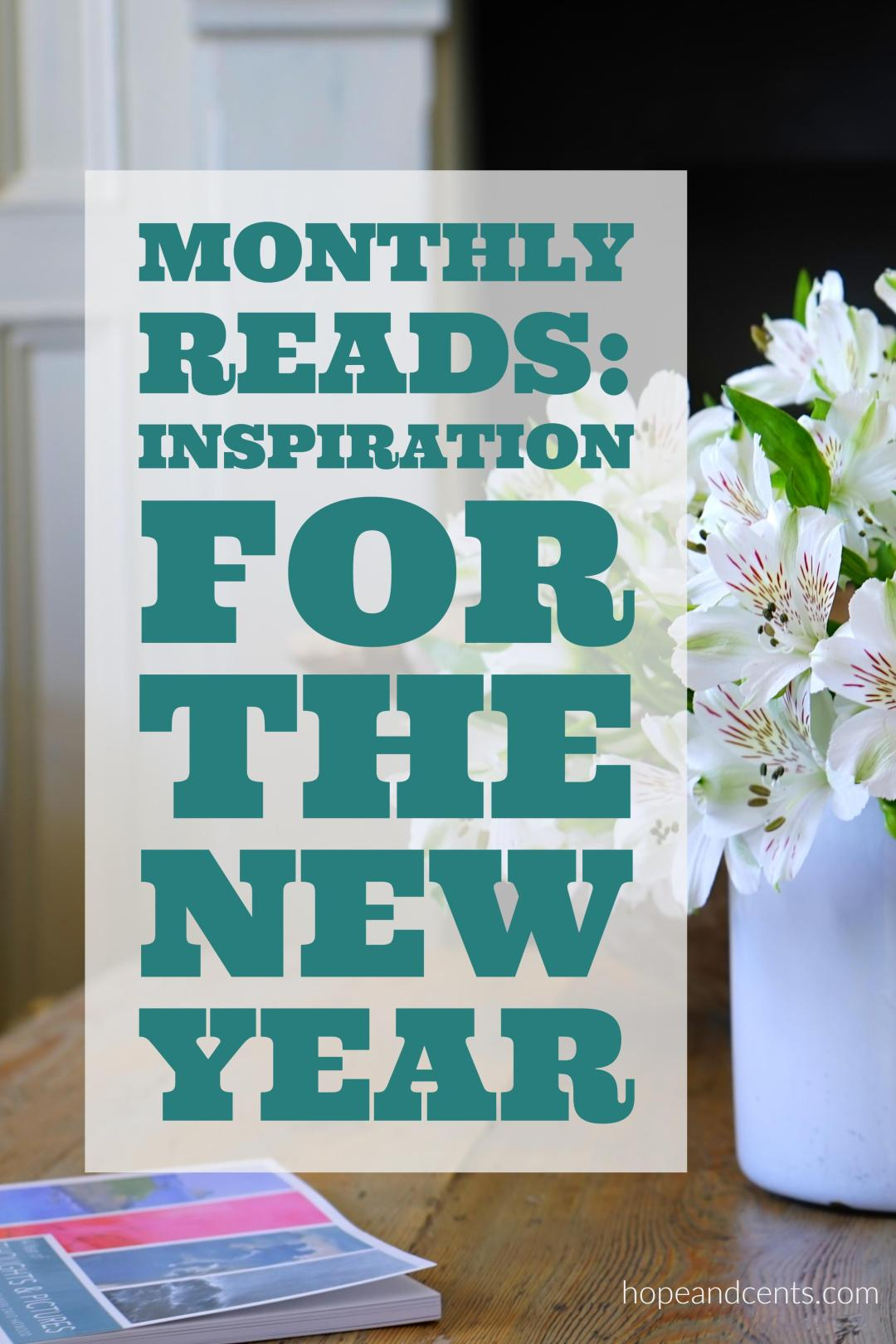 Whether you're crushing your goals or you've given up on your New Year's resolutions, you could use a little inspiration for the new year.