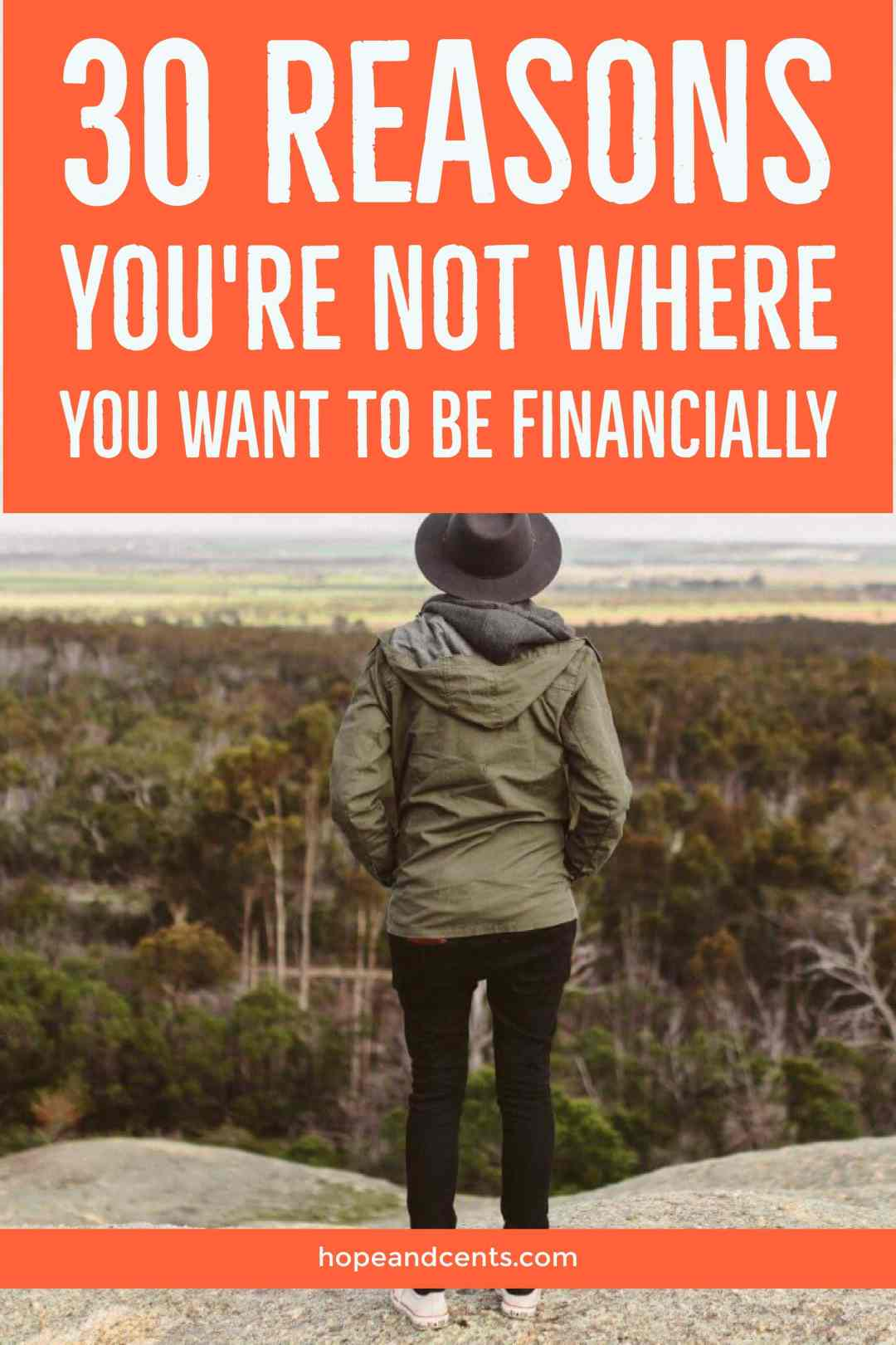 Are you unhappy with where you are financially? This list of reasons will help you pinpoint the reasons that are holding you back and will help you take action to meet your financial goals.