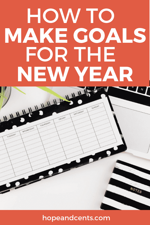 How to Make Goals for the New Year