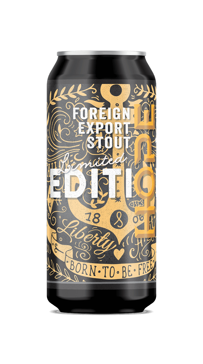 Hope Beer Foreign Export Stout
