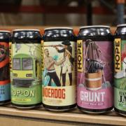 Hope Beer range of cans