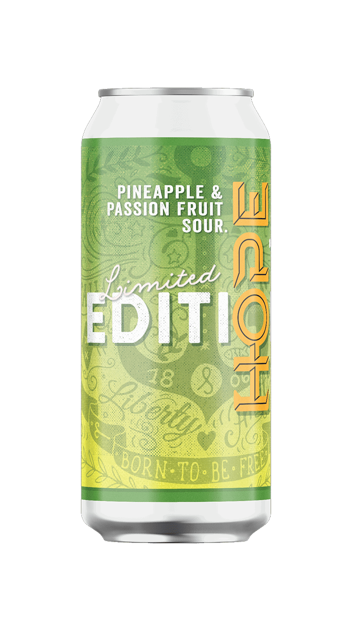 Hope pineapple and passion fruit sour