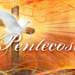 Pentecost Sunday Flame and Dove