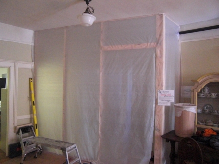 dust enclosure - lower level