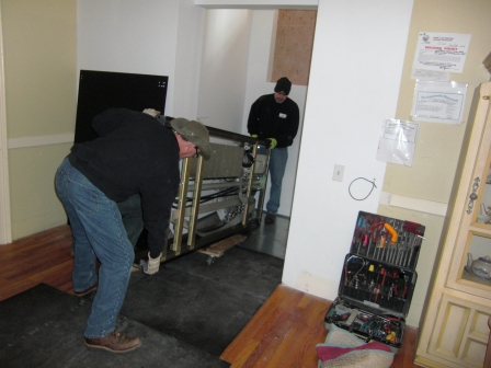 moving in the new lift mechanism