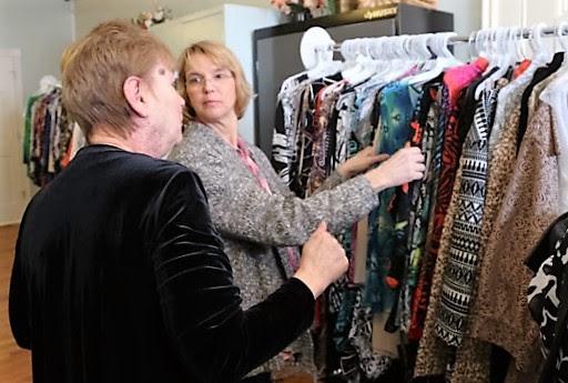 Fashion show shopping