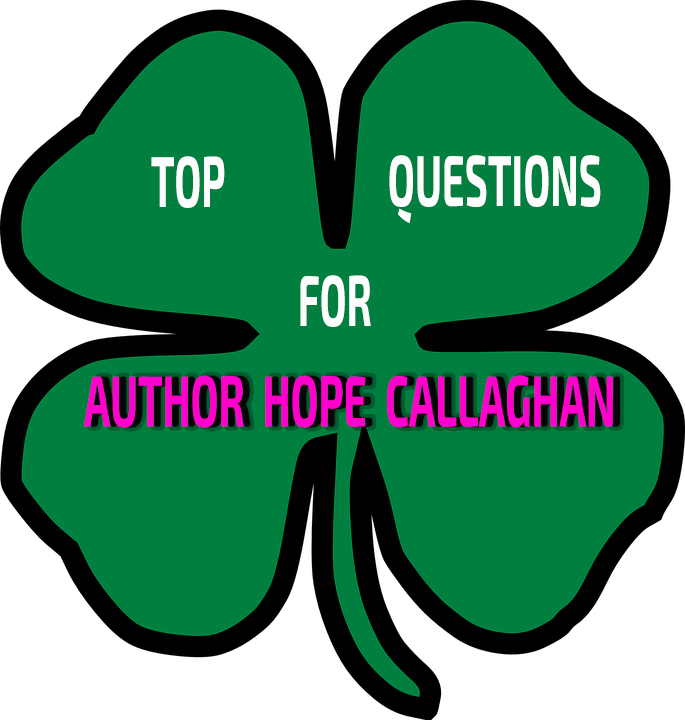 Top Questions For Author Hope Callaghan Christian Mystery Author