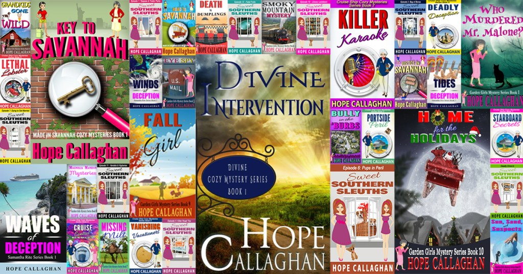 List of Hope Callaghan Books By Series
