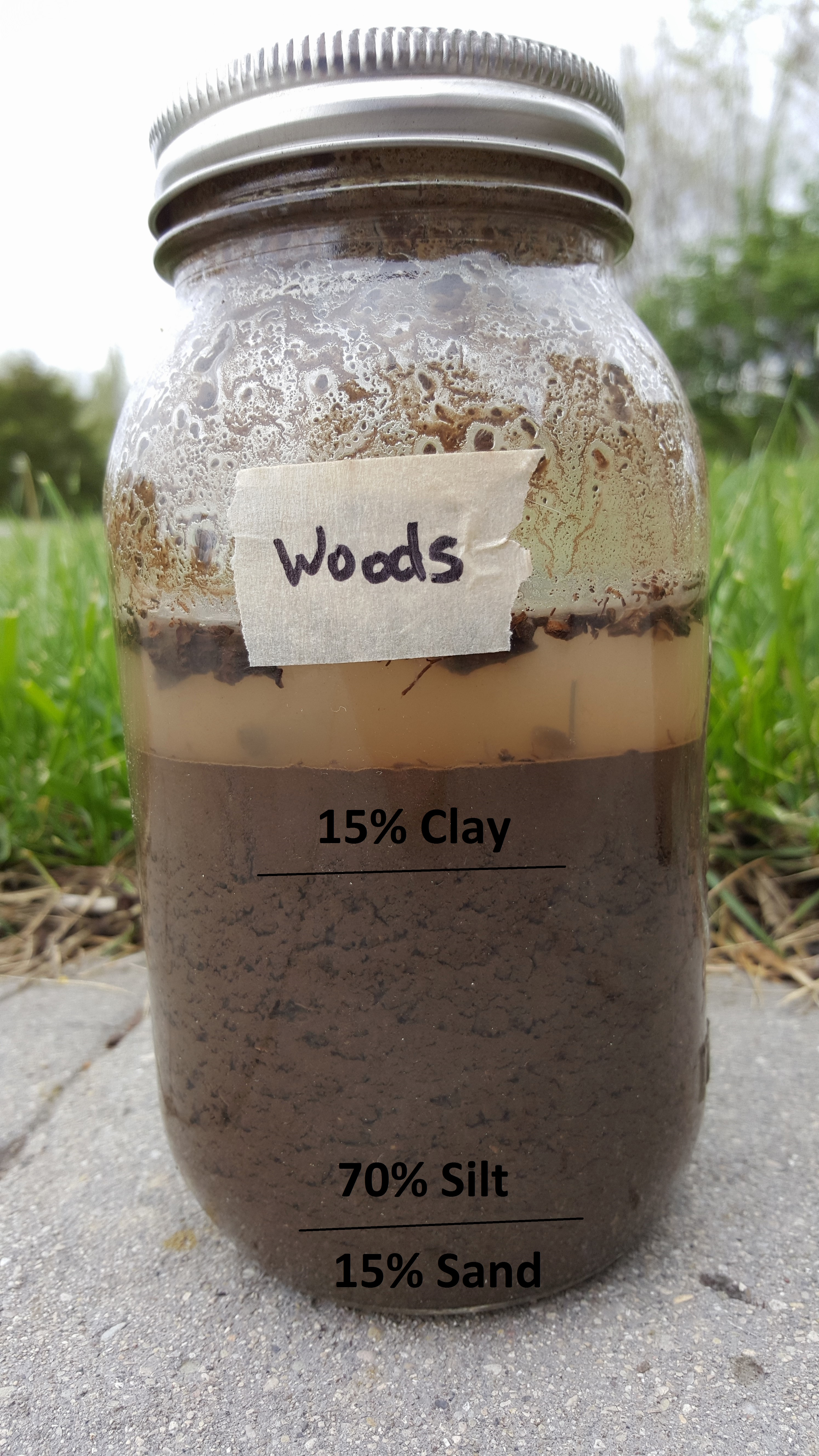 How To Use A Mason Jar To Test Your Soil Hope Farm