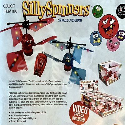 silly spinners