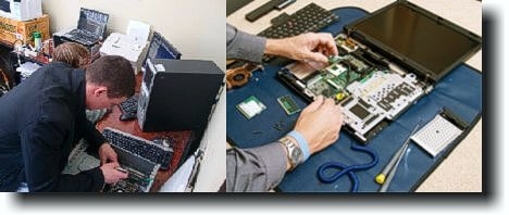 computer repair refurbishment training