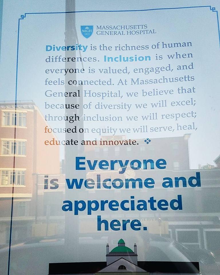 Sexual harassment poster massachusetts general hospital