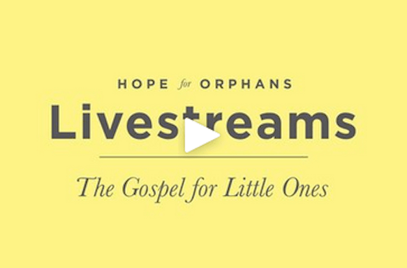 Video – The Gospel for Little Ones