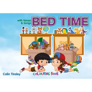 Bed Time Colouring Book