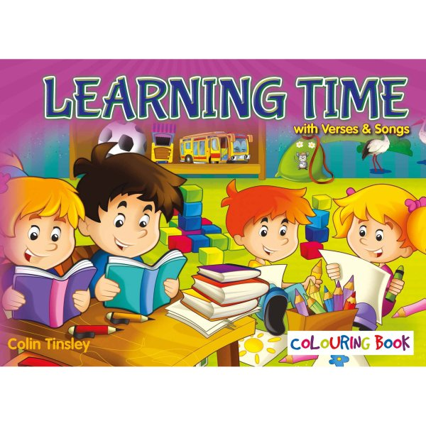 Learning Time Colouring Book