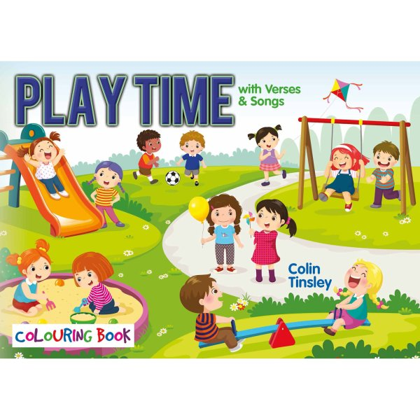 Playtime Colouring Book