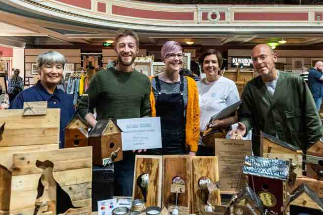 Artists and organisers of the 2019 Festival of Making Makers' Market