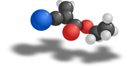 super glue chemistry ethyl cyanoacrylate