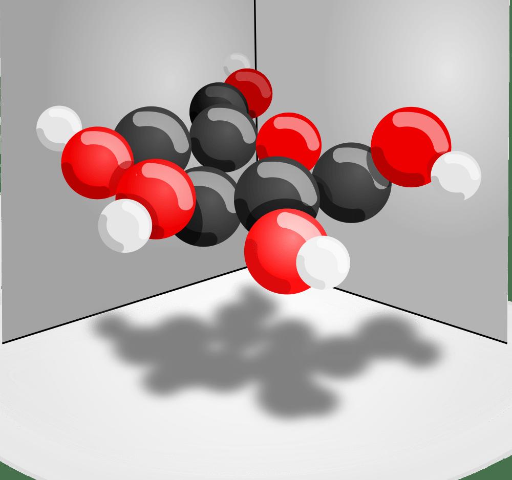 glucose molecule structure
