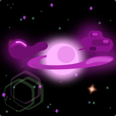 nebula starting to condense into a star