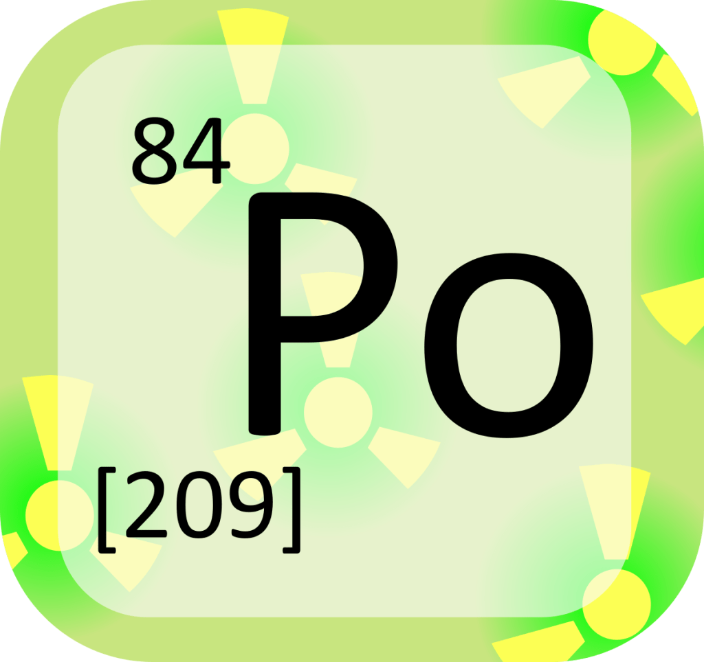Polonium was discovered by one Curie and then researched further by the next - Irene Joliot-Curie