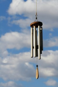 my life as a wind chime!