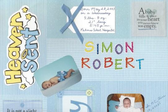 Simon birth album