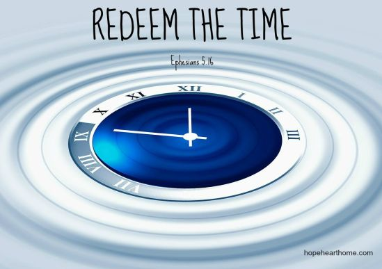 REDEEM THE TIME