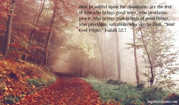 Isaiah52_7 autumn