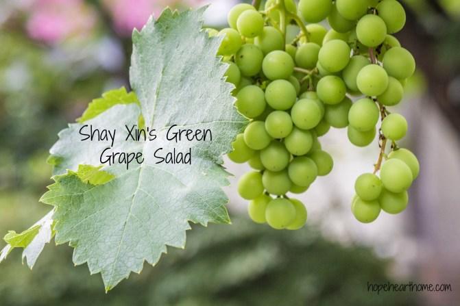 Tasty Tuesday Shays Grape Salad