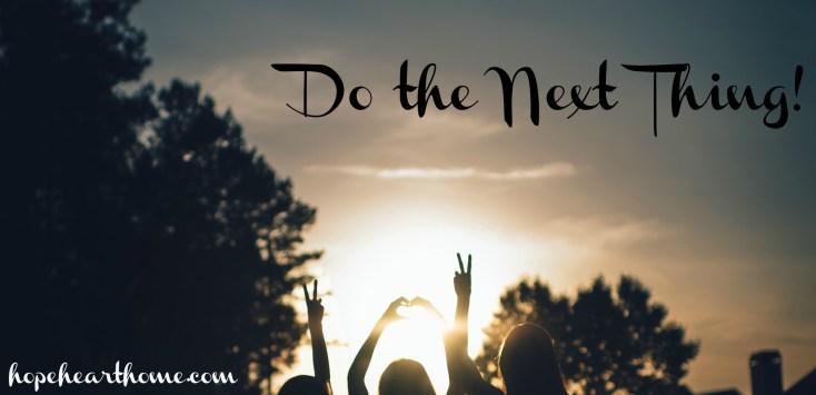 Women do the next thing_blog